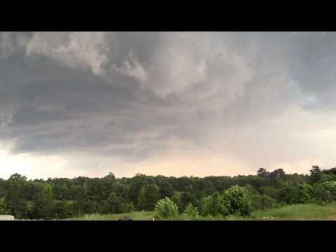 Richmond/Mechanicsville VA Tornado Warned storm 9 June 2013