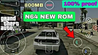 PLAY GTA 5 ON ANDROID WITH PROOF N64 emulator