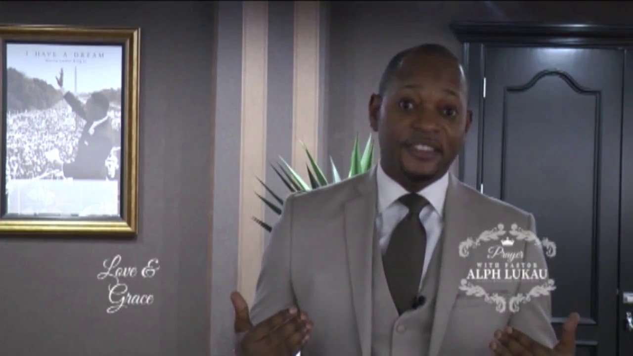 Prayer moment with Pastor Alph LUKAU