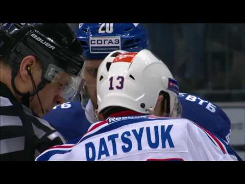 Datsyuk receives game misconduct penalty in playoffs