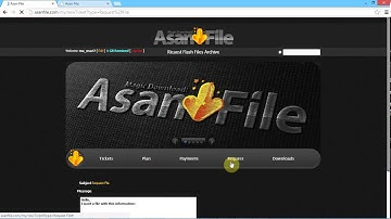 How to added new ticket and request file