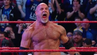 Goldberg is coming to Friday Night SmackDown