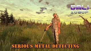 Serious Metal Detecting Simulator PC Gameplay 1080p 60fps