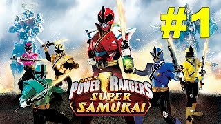 Power Rangers Super Samurai Walkthrough Mission 1 SPLITFACE