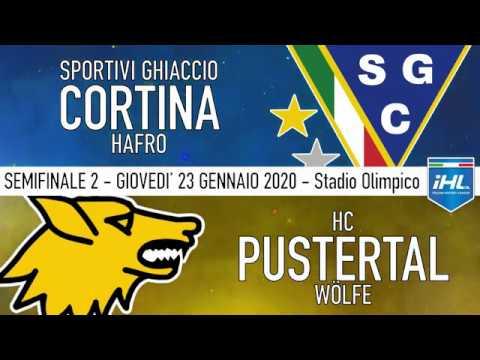 Sg Cortina Hafro - HC Pustertal Semifinal 2