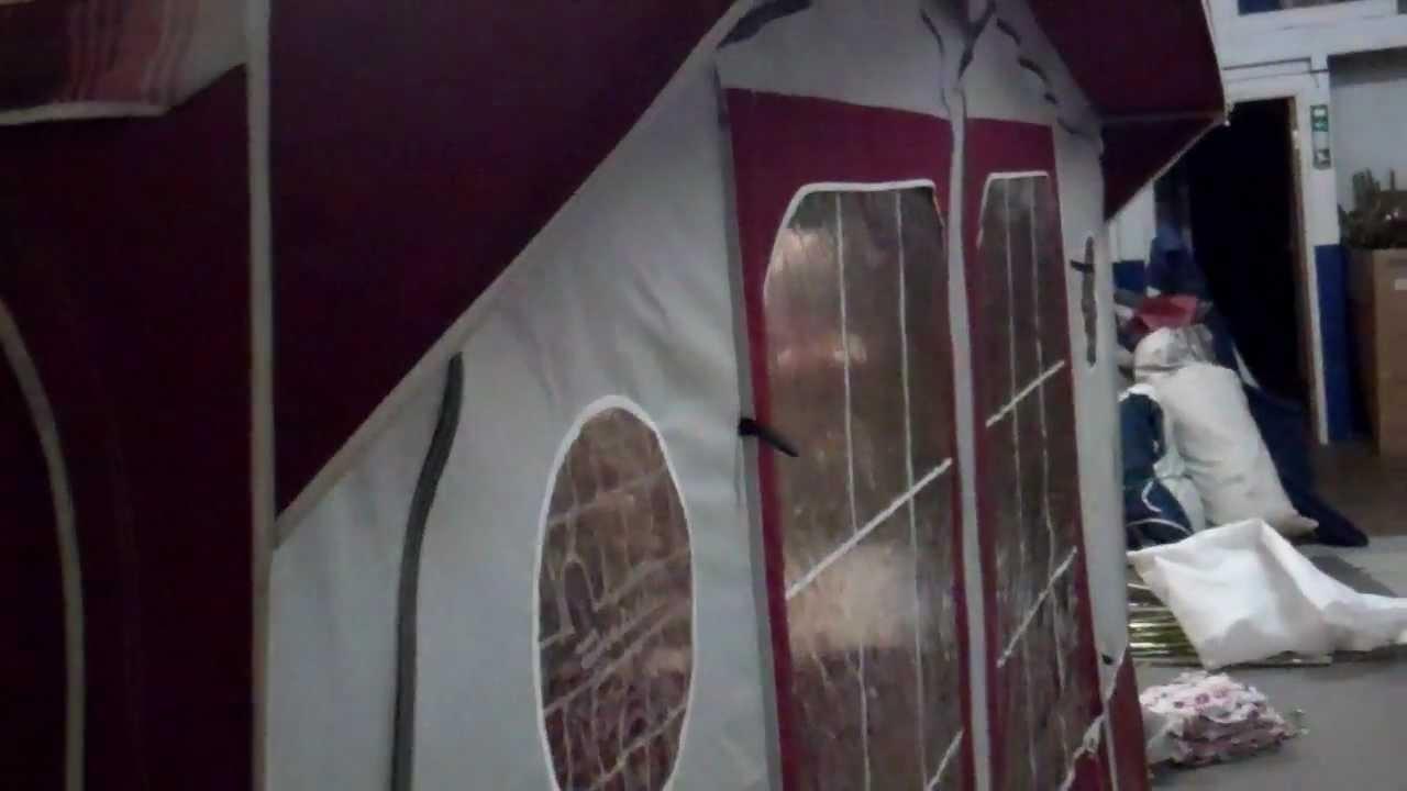 Isabella Ambassador 2501 caravan awning - YouTube