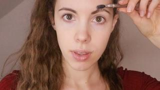 Grooming Your Eyebrows - ASMR - Tweezing, Combing, Moisturizing...