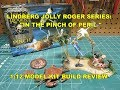LINDBERG IN THE PINCH OF PERIL 1/12 MODEL KIT BUILD REVIEW HL612 JOLLY ROGER SERIES