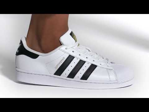 Adidas Superstar 經典必備款 三葉草 金標 貝殼頭 情侶板鞋 C77124