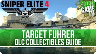 Sniper Elite 4 Target Führer DLC Collectibles Guide (Letters, Eagles, Documents, Reports, Rosters)