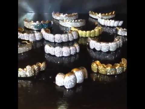 Iced Out Diamond Grillz Different Flavors