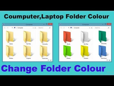 how to change folder icon windows 8