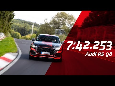 New SUV Record Nordschleife | Audi RS Q8