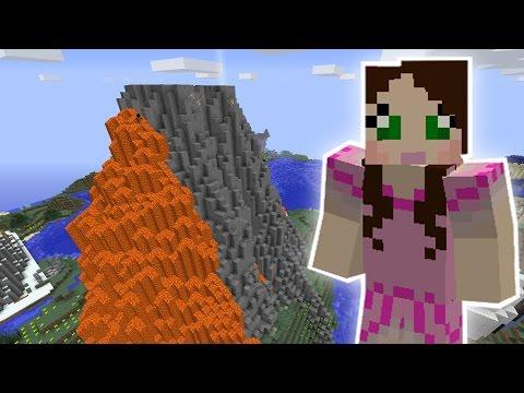 Minecraft: HUGE VOLCANO MISSION! - Custom Mod Challenge [S8E57]