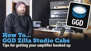 GGD Zilla Studio Cabs plugin - How to record your amplifier - Tips & Techniques