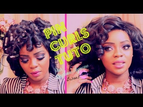 BEYONCE Prom Hair Pin Up Curls YouTube