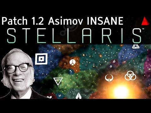 Stellaris Asimov 1.2 Patch Insane Gameplay - Wormhole Lasers Mean Neighbors