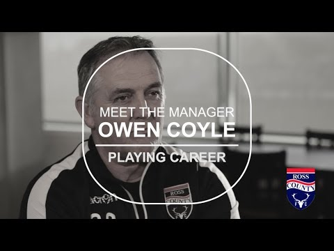 Part 3 Owen Coyle - Meet The Manager - Playing Career