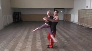 Dance lifts and tricks 2014, Milan and Hana CZE