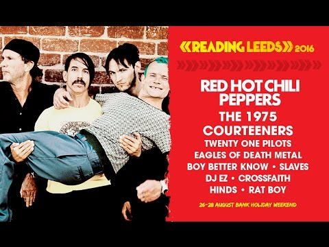 Red Hot Chili Peppers | Reading & Leeds 2016