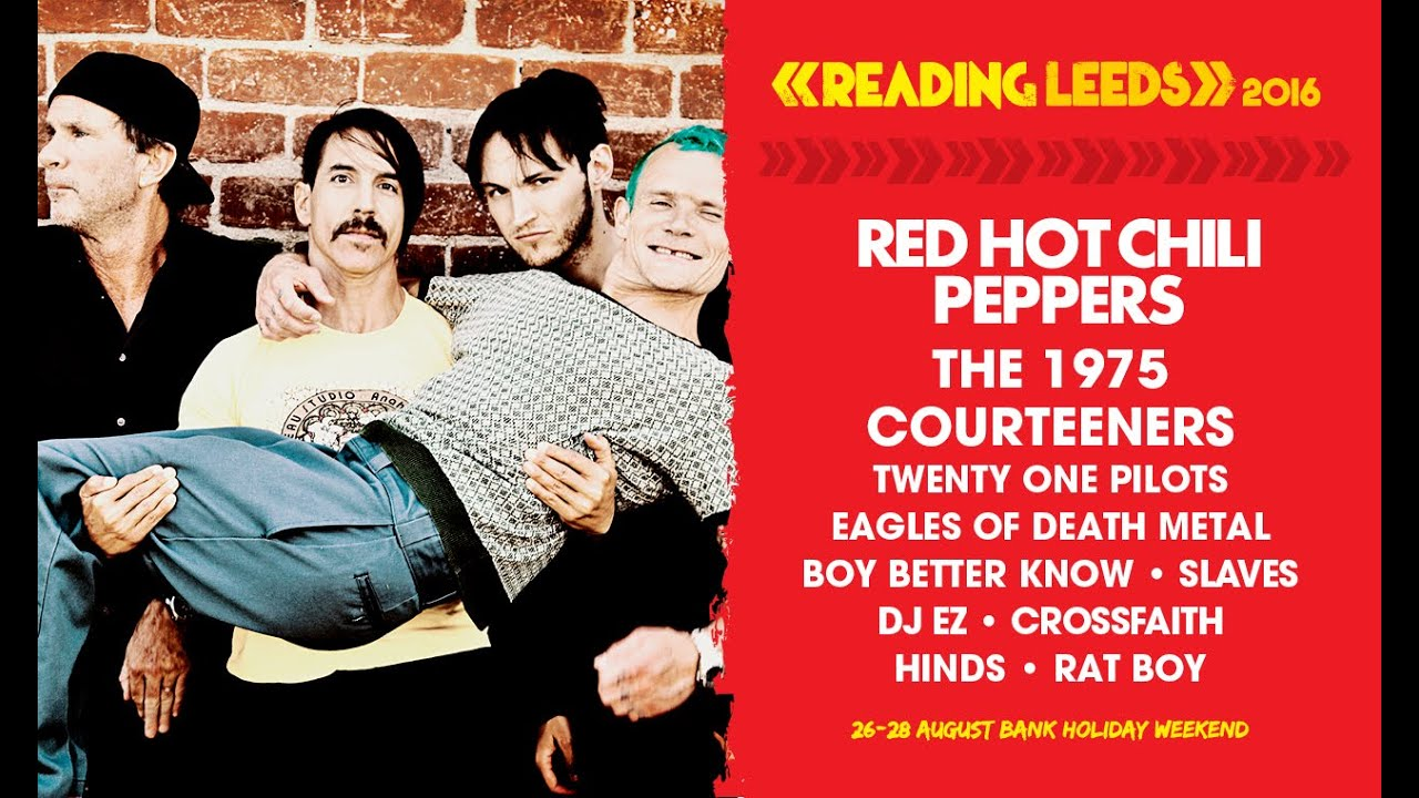 red hot chili peppers reading leeds 2016 youtube. Black Bedroom Furniture Sets. Home Design Ideas