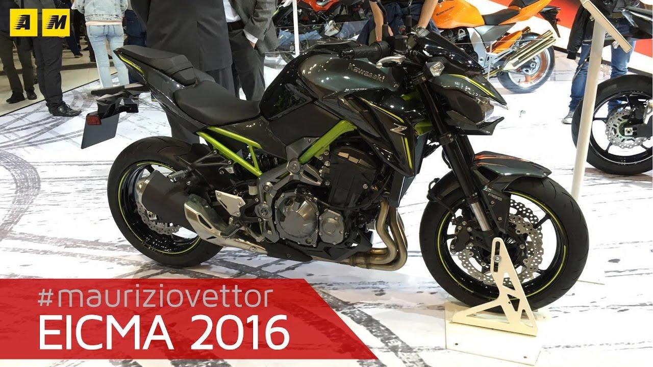 Kawasaki Z900 2017 ENGLISH SUB