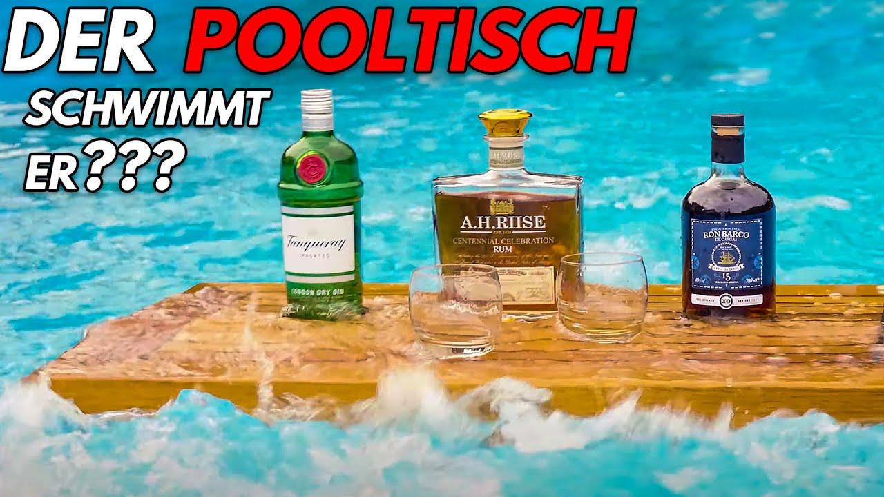 Bootsbaumeister baut maritime Möbel - schwimmender Pooltisch Teil 3