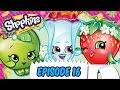 """Shopkins Cartoon - Episode 16, """"Welcome to Shopville"""""""