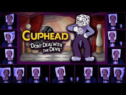 "CUPHEAD ""Die House"" Acapella Cover (Mr. King Dice Main Theme) w/ LYRICS"