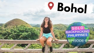 BOHOL IS MORE BEAUTIFUL THAN I IMAGINED // Solo Backpacking the Philippines