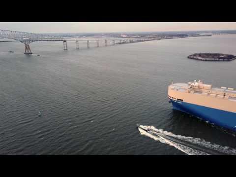 Drone Surveys Grand Legacy Vehicles Carrier