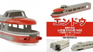 【新製品】特急ロマンスカー 小田急3100形 NSE(エンドウ 1:80 16.5mmゲージ製品)