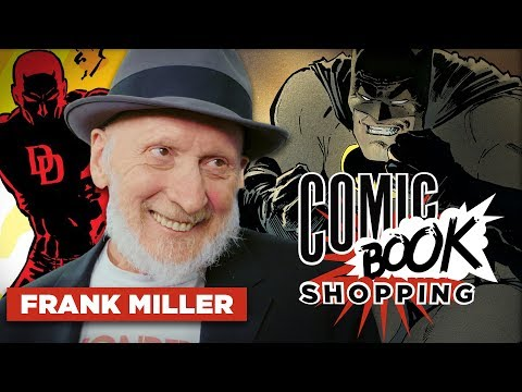 Frank Miller Reveals Western Sin City Prequel in the Works & Goes Comic Book Shopping