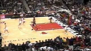 Lakers @ Bulls, 1997 (4th qtr comeback)