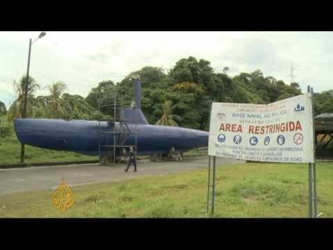 Colombia drug cartels utilising submarines