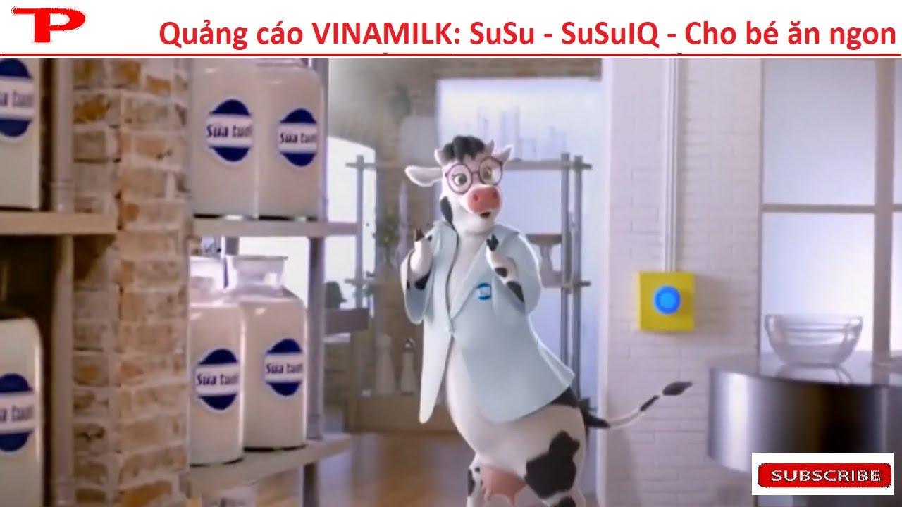 Quảng cáo VINAMILK: SuSu – SuSuIQ – Cho bé ăn ngon | 2020