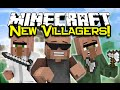 Minecraft NEW VILLAGERS!  - Helpful Villagers Mod Spotlight