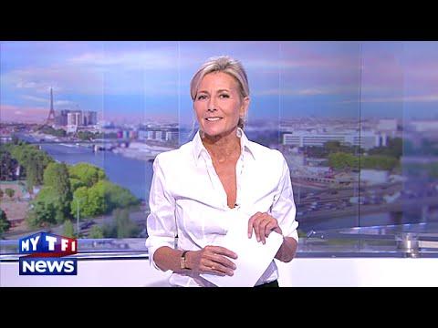 L'au revoir de Claire Chazal lors de son dernier JT sur TF1