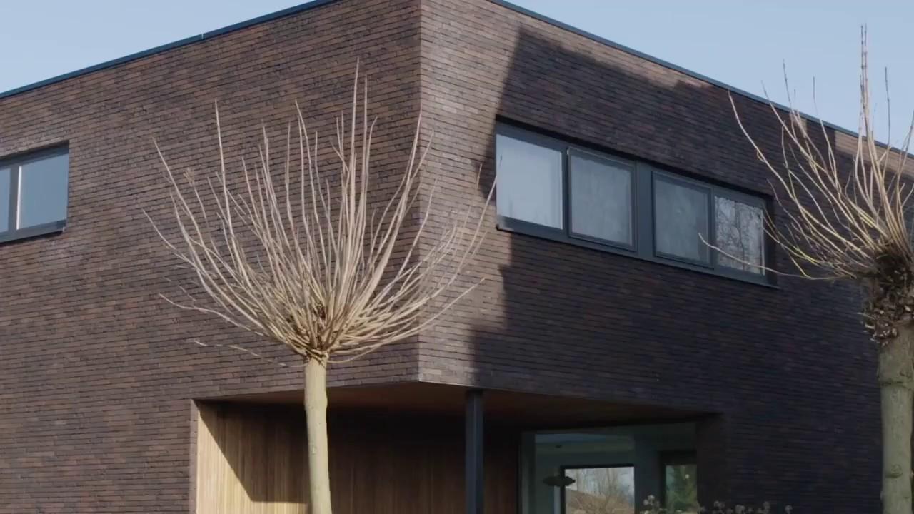 Réalisations ossature bois: maison moderne à ossature bois de Dewaele  Ossature Bois