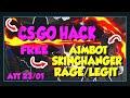 CS:GO DOWNLOAD CHEAT FREE ATUALIZADO NO BAN 2020!! AIMBOT/SKINCHANGER/WALLHACK