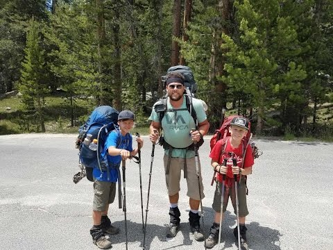A Dad and His Boys on the John Muir Trail