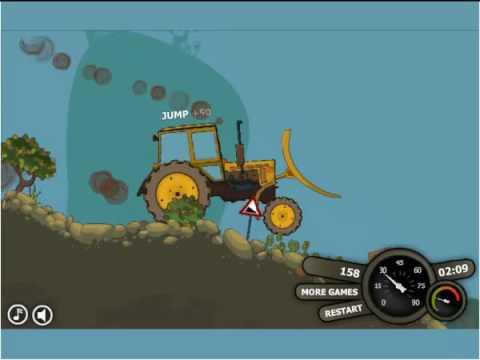 Гонки на тракторе (обзор игры)