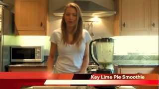 How To Make A Healthy Weight Loss Smoothie - Key Lime Pie Smoothie