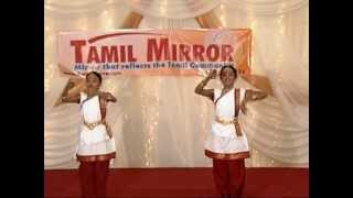 Welcome dance performance at the last Tamil Mirror event