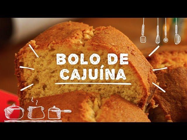 Bolo de Cajuína - Sabor com Carinho (Tijuca Alimentos)
