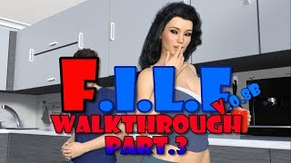 F.I.L.F v.0.08b(ICCreations) Walkthrough part.3[18+](The End)-Another Milfy City Lookalike Game?-