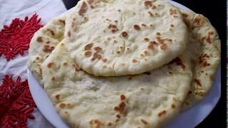 Naan roti recipe with yeast (Homemade) || How to make naan roti