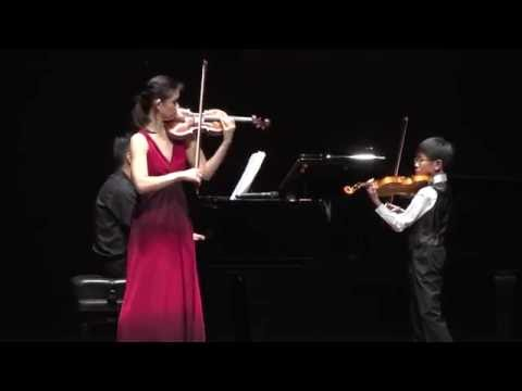 Min Lee and Samuel Tan - Navarra by Sarasate, Violin Duet