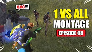 ROS 1 VS ALL Montage! Episode 08 (Rules of Survival)