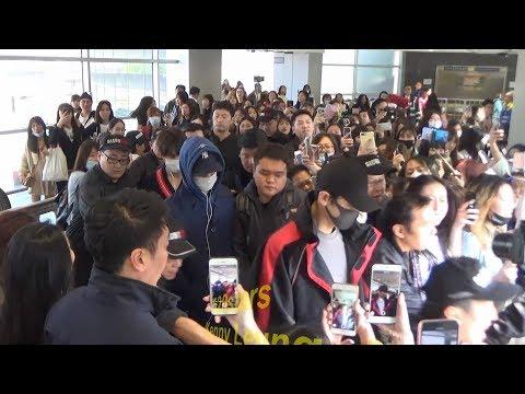 EXO (Chanyeol、KAI、Sehun) Arrived Hong Kong Airport 20180323 Mp3